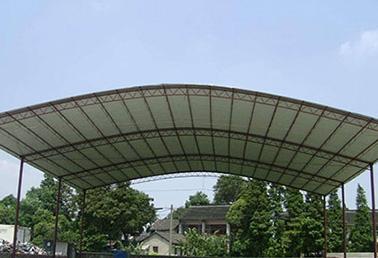 圆顶彩钢棚